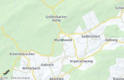 Stadtplan Münchwald