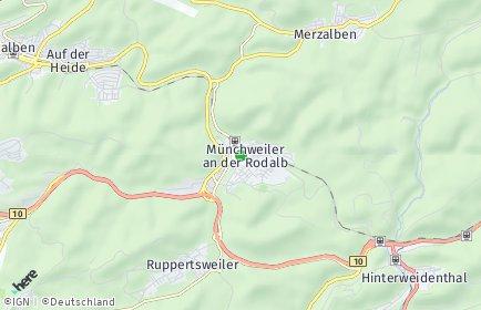 Stadtplan Münchweiler an der Rodalb