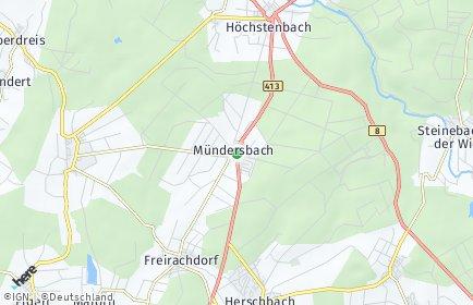 Stadtplan Mündersbach