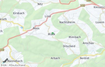 Stadtplan Münk
