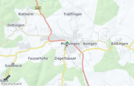 Stadtplan Münsingen (Württemberg)