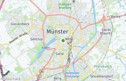 Stadtplan Münster (Westfalen)