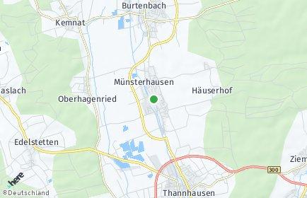 Stadtplan Münsterhausen