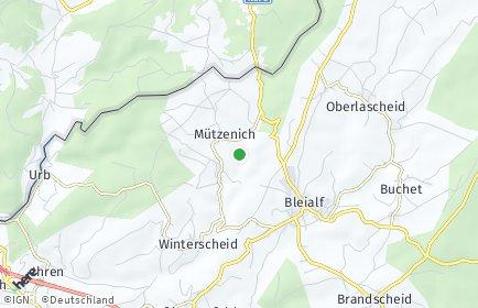 Stadtplan Mützenich bei Prüm