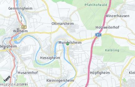 Stadtplan Mundelsheim
