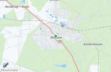 Stadtplan Munster