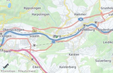 Stadtplan Murg