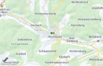 Stadtplan Murrhardt