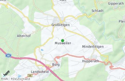 Stadtplan Musweiler