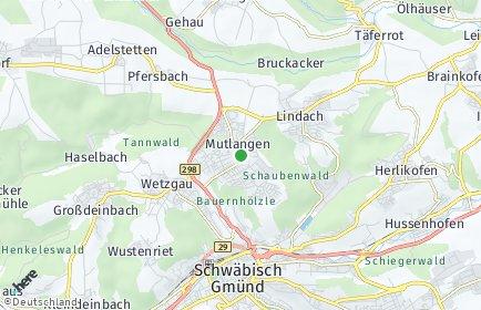 Stadtplan Mutlangen
