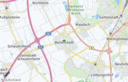 Stadtplan Mutterstadt