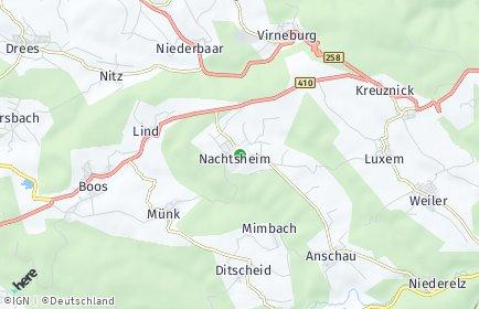 Stadtplan Nachtsheim