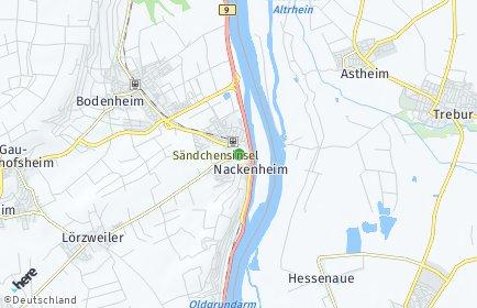 Stadtplan Nackenheim