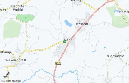 Stadtplan Nahe