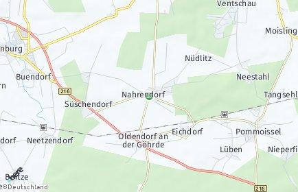 Stadtplan Nahrendorf