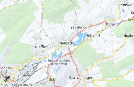 Stadtplan Nalbach