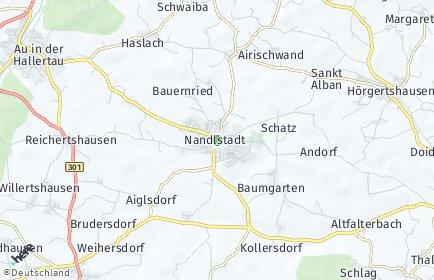 Stadtplan Nandlstadt