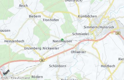 Stadtplan Nannhausen