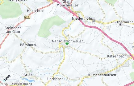 Stadtplan Nanzdietschweiler