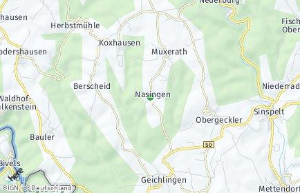 Stadtplan Nasingen