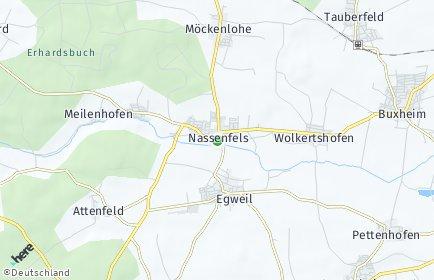 Stadtplan Nassenfels