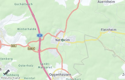 Stadtplan Nattheim