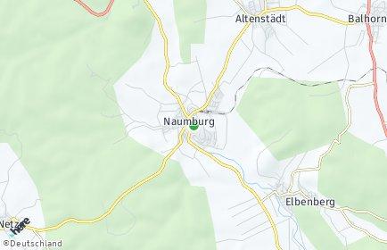 Stadtplan Naumburg (Hessen)