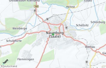 Stadtplan Naumburg (Saale)
