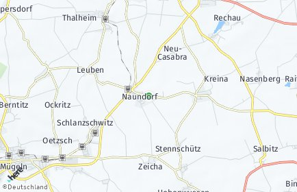 Stadtplan Naundorf (Sachsen)