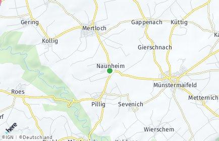 Stadtplan Naunheim