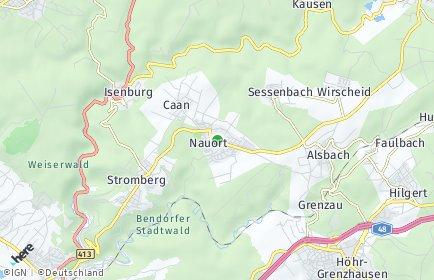 Stadtplan Nauort