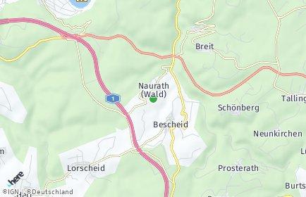 Stadtplan Naurath (Wald)