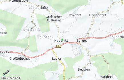 Stadtplan Nausnitz