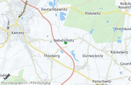 Stadtplan Nebelschütz