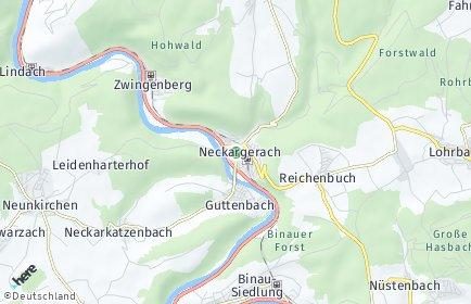 Stadtplan Neckargerach