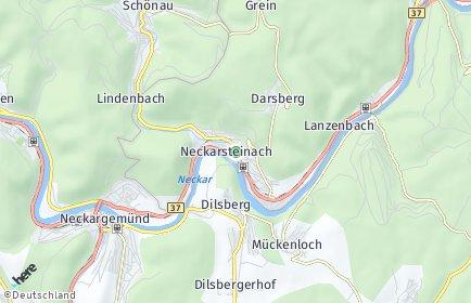 Stadtplan Neckarsteinach