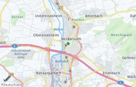 Stadtplan Neckarsulm