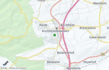 Stadtplan Donnersbergkreis