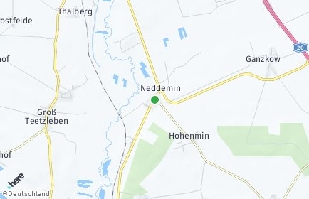 Stadtplan Neddemin