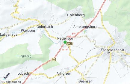 Stadtplan Negenborn