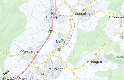 Stadtplan Nehren (Württemberg)