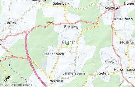 Stadtplan Neichen