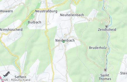 Stadtplan Neidenbach