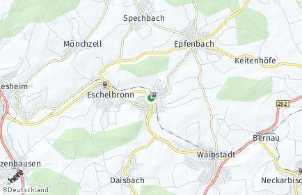 Stadtplan Neidenstein