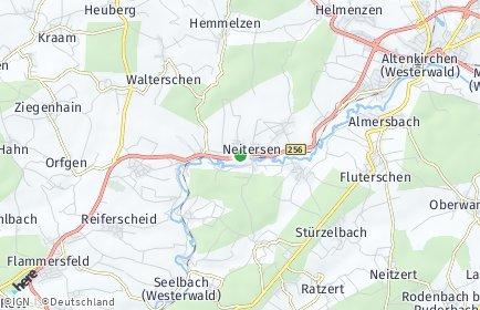 Stadtplan Obernau