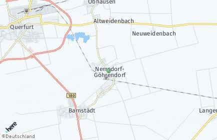 Stadtplan Nemsdorf-Göhrendorf