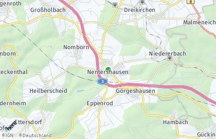 Stadtplan Nentershausen (Westerwald)