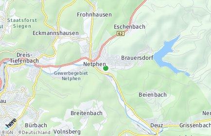Stadtplan Netphen