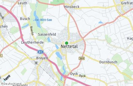 Stadtplan Nettetal