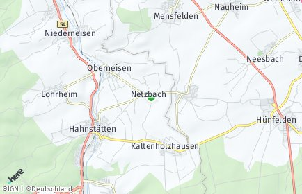 Stadtplan Netzbach